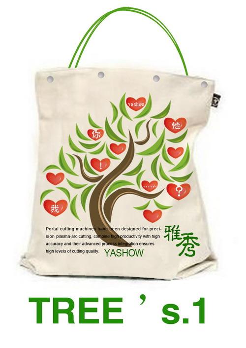 雅秀环保购物袋设计大赛作品欣赏:tree'sofyashow