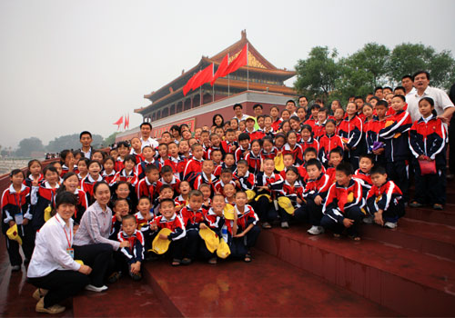 公益面对面:青川的孩子在北京