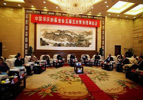 中国宋庆龄基金会五届五次常务理事会在京召开