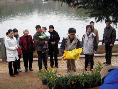 《真情耀中华》导演助理手记-志愿者在成长