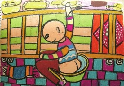 创作了儿童画、水彩画、水粉画、国画等画作30余幅.昨天,在妈妈的